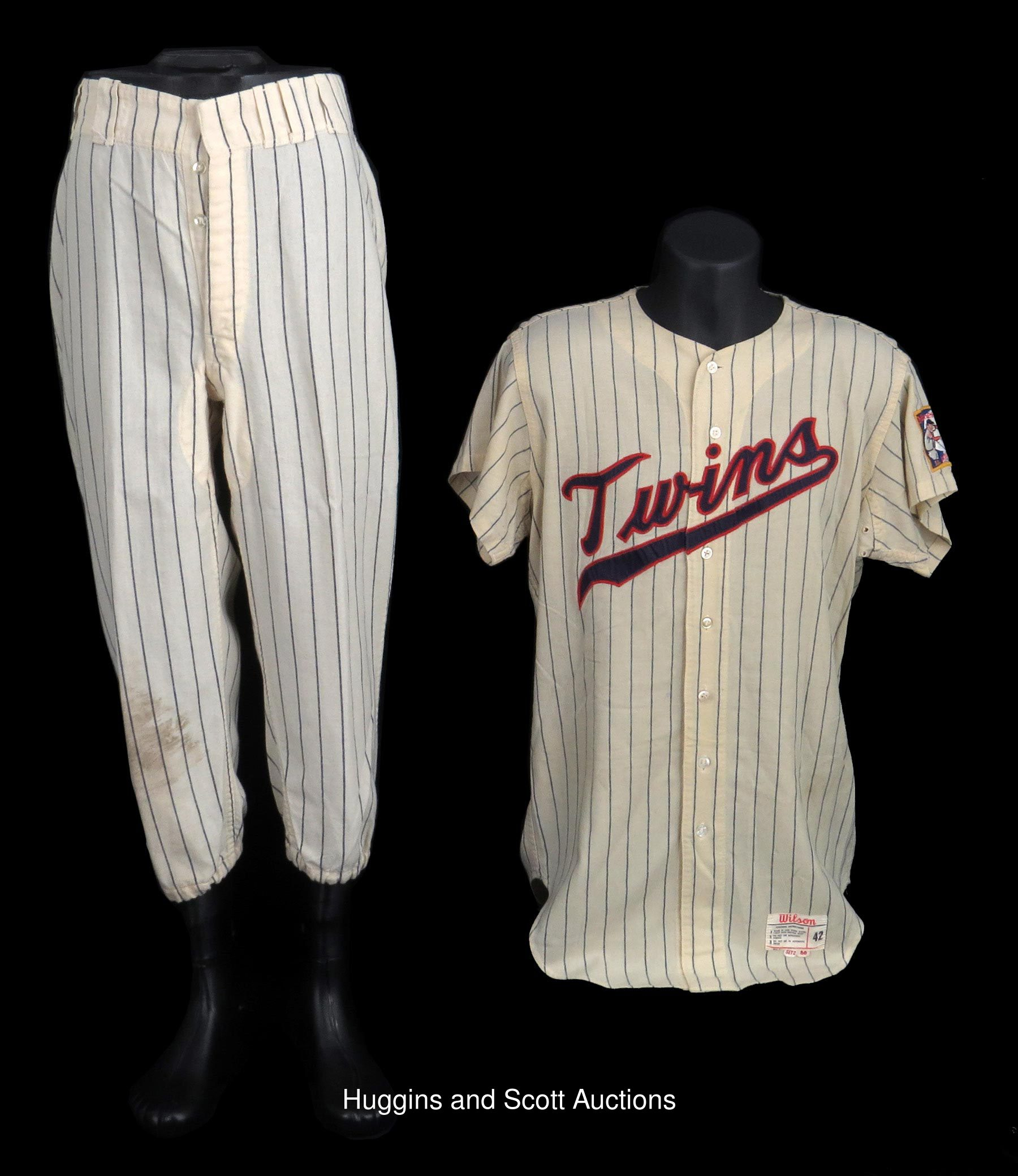 online retailer 131ff d69fb 1966 Dave Boswell Game-Used Pair with 1966 Jersey & 1970 Pants