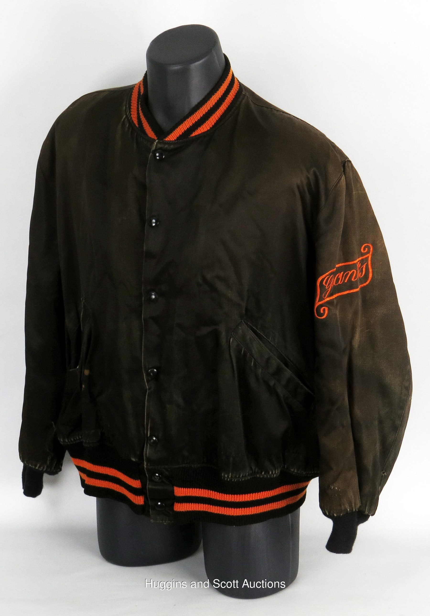 separation shoes 06ee9 6bb25 Early 1950s Tim McAuliffe Inc. New York Giants Warm-Up Jackets