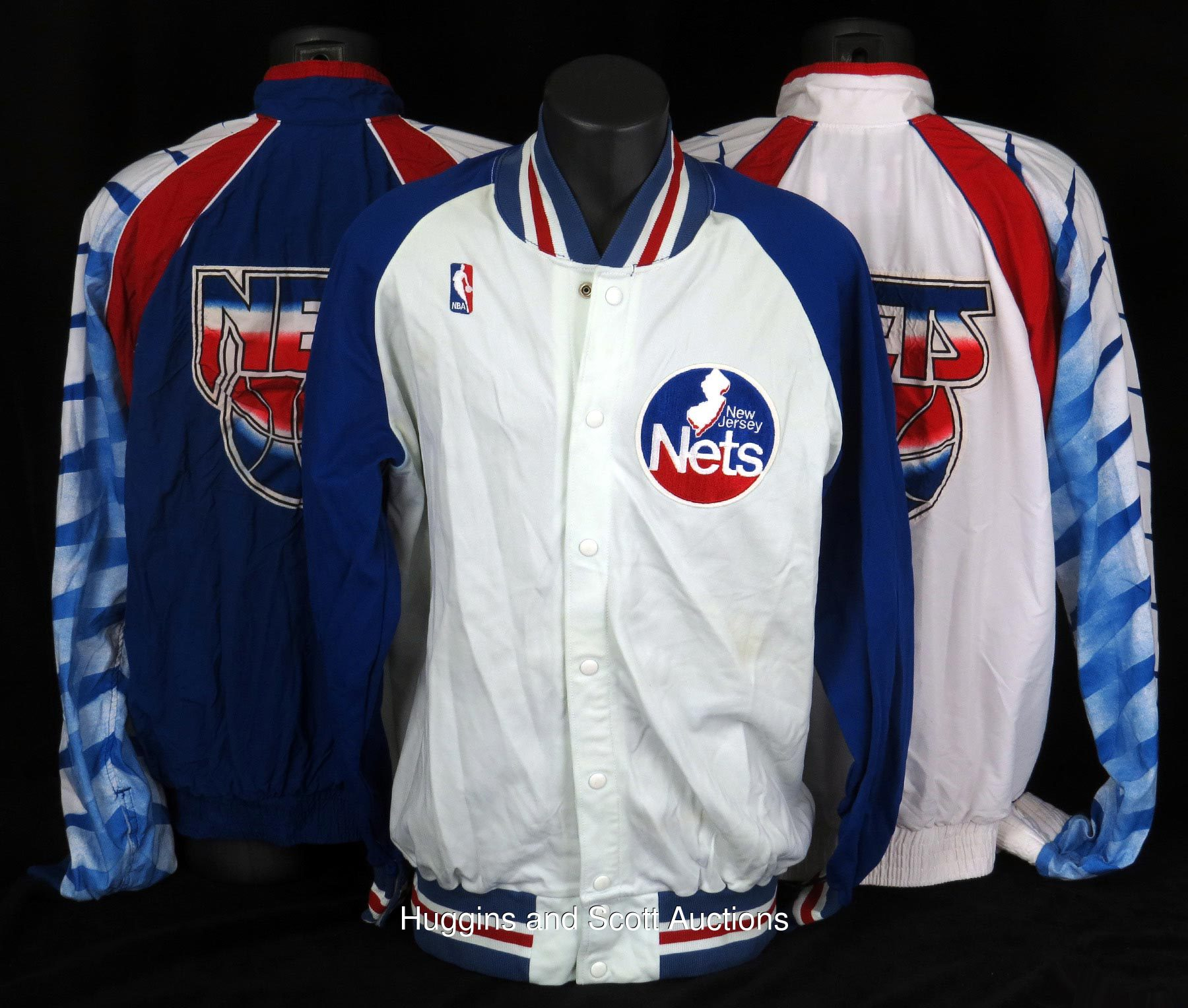 uk availability 73d8c a4c68 1986-1994 New Jersey Nets Game Used Lot of (10)